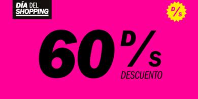 60 % DE DESCUENTO