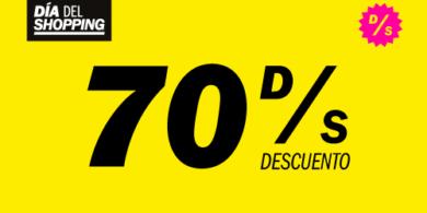 70 % DE DESCUENTO