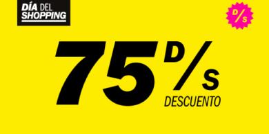 75% DE DESCUENTOS