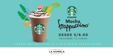 Mocha Frappuccino desde S/ 6